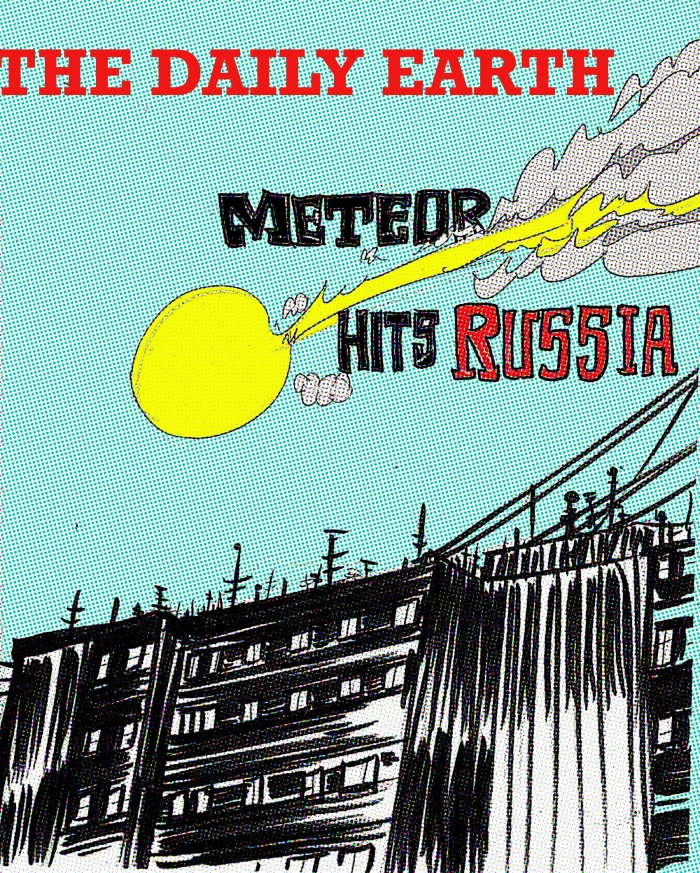 meteor over russia cover