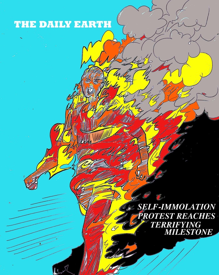 self immolation COVER