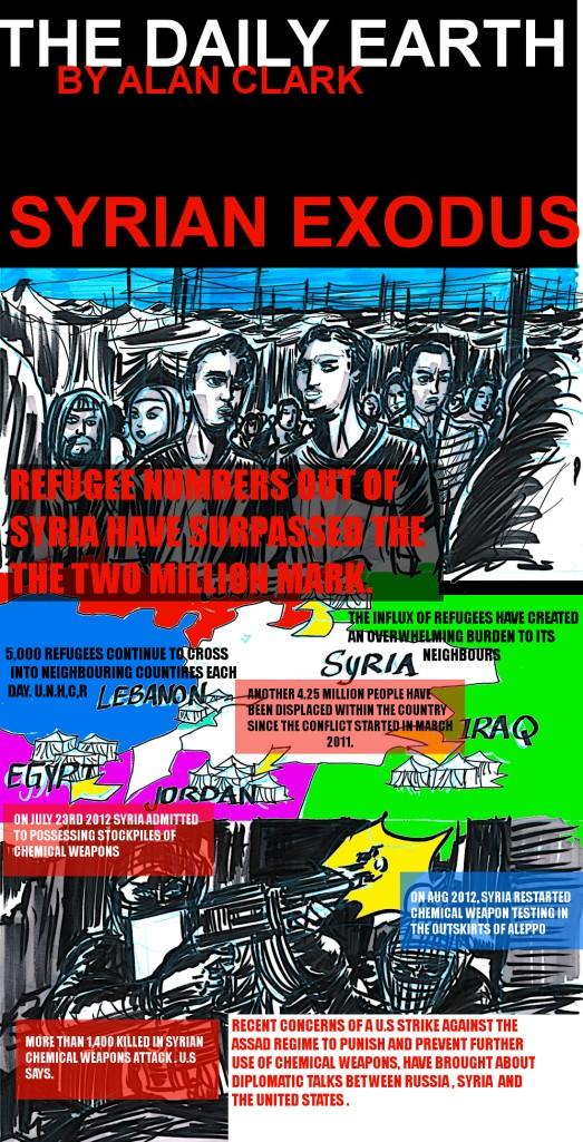 SYRIAN EXODUS