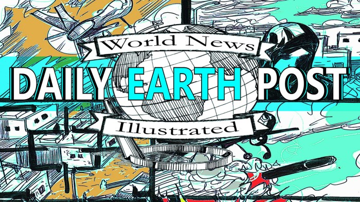 The Daily Earth Post: World News Illustrated (2013)